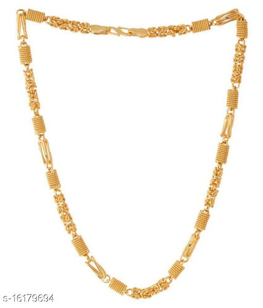 Trendy & designer link chain Collection For Men And Boys Gold-plated Plated Brass Chain