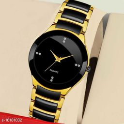 Boys And Men New Luxury Designer Attractive Gold Analog Watch - For Boys
