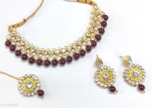 Polki Heavy Kundan Bridal Feminine Fancy Jewellery Sets