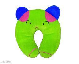 Newborn Baby's Soft Head Shaper,Neck support  Nursing Pillow (GREEn Panda 0-12 Months)