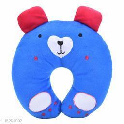 Newborn Baby's Soft Head Shaper,Neck support  Nursing Pillow (Panda_BLUE, 0-12 Months)