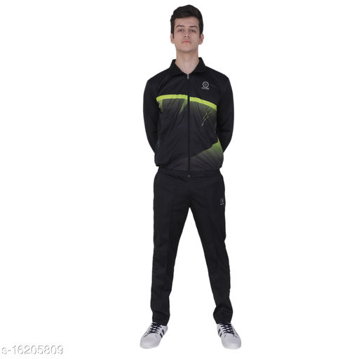 Super Poly Printed Tracksuit for Men