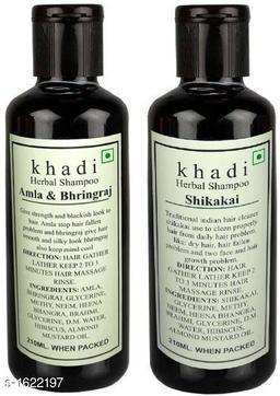 KHADI AMLA BHRINGRAJ & SHIKAKAI SHAMPOO PACK OF 2