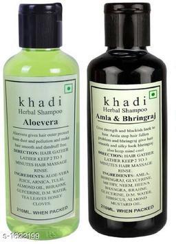 KHADI ALOEVERA & AMLA BHRINGRAJ SHAMPOO PACK OF 2
