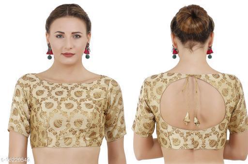 Boat Neck Women's Jaquard blouse
