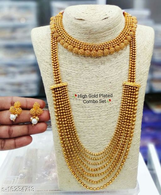 Beautiful Collection Of Copper Gold Combo Set