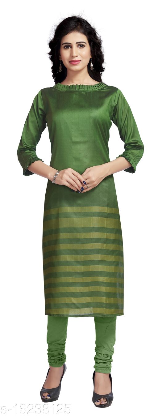 Casual Wear Soft Silk Kurti