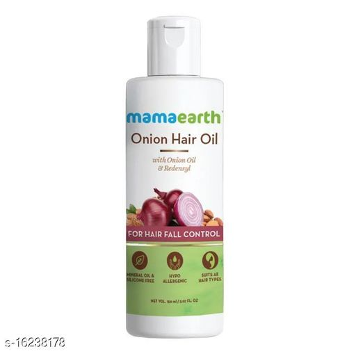 mamaearth onion hair oil 150 ml {pack of 1}