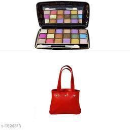 Assorted Color Bag & Eye Shadow Combo