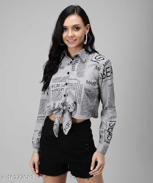 Real Vibes Casual & Trendy Paper Top