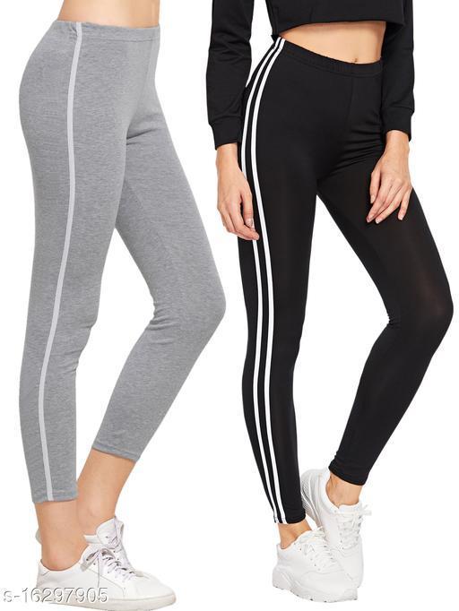 Women's Jeggings Combo Pack Of 2/leggings/Jogger pants for women/jeggings for girls/Sport Wear Jeggings Combo Pack Of 2