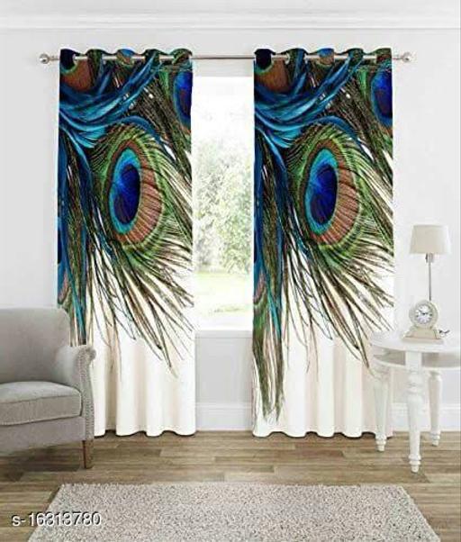 Digital Print Heavy Fabric Door Curtain-1 Pc