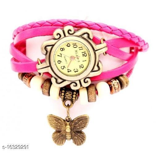 bracelet watch pink