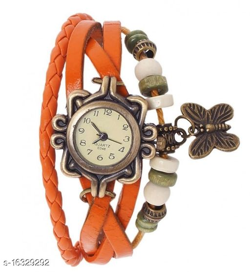 bracelet watch yellow