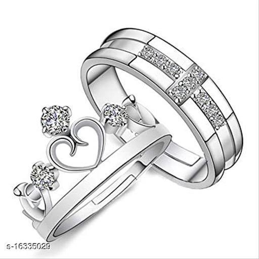 Shimmering Glittering Rings