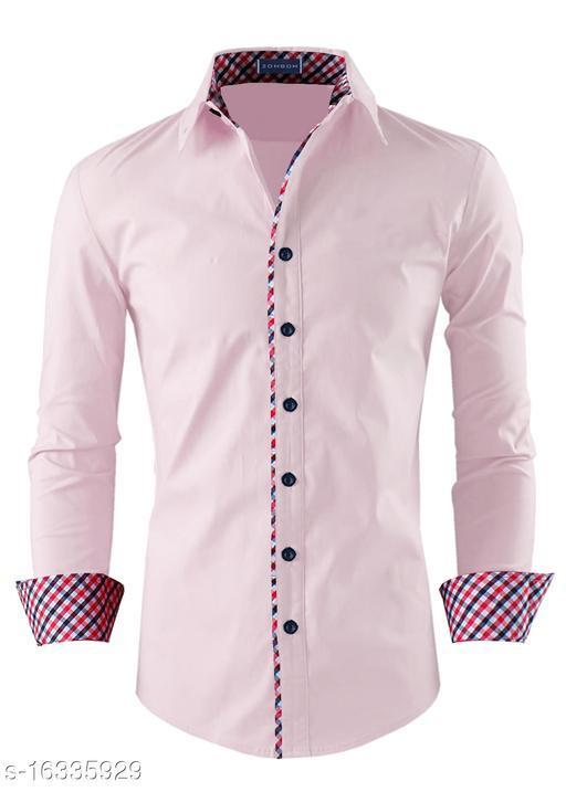 Zombom Casual Men Shirt