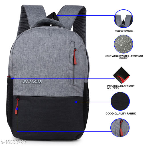 Wasterproof expandable laptop backpack 15.6 inches