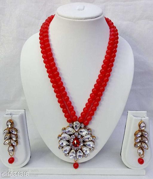 Women's Gold Plated Jewellery Set