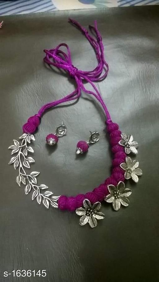 Stylish Oxidized Jewellery Set