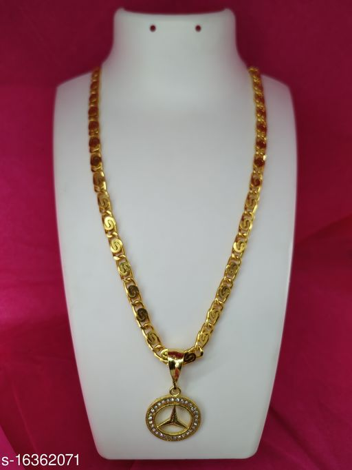 Alloy Gold Plated Chain for Men