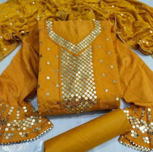 Trendy Alluring Semi-Stitched Suits