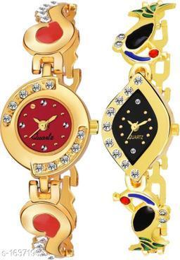 MMD New Design Party-Wedding BraceletStrap Women and Girls Analog Watch