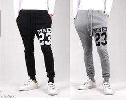 Trendy Casual Cotton Track Pants(Pack Of 2)