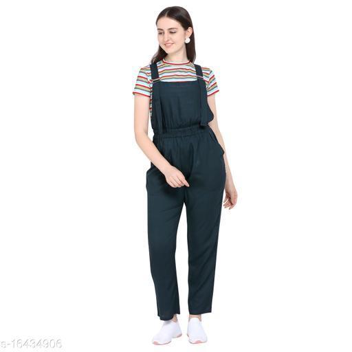 Trendy Elegant Dungaree Jumpsuits
