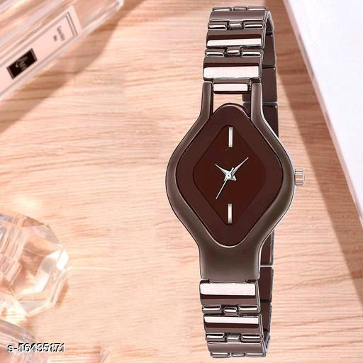 HRV Best Collection Women Oval Collection Analog Women And Girls Watch