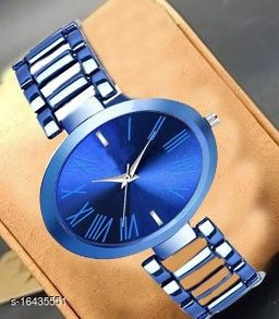 HRV Best Collection Women Gold Roman Dial Analog Girls And Women Watch