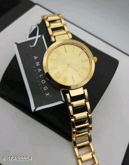HRV Best Collection Women Gold Roman New  Dial Analog Girls And Women Watch