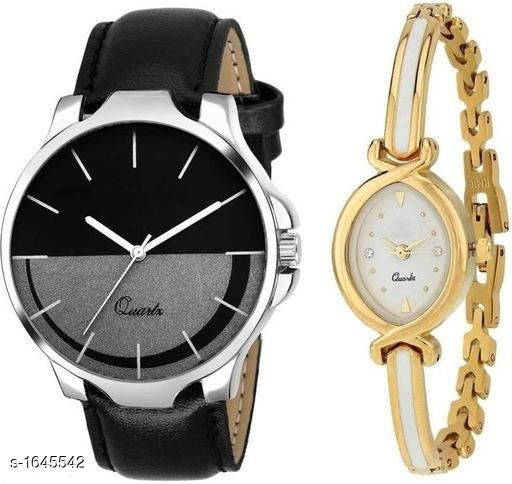 Dailywear Couple Watches (Pack Of 2)