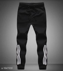 Trendy Cotton Blend Men's Track Pant