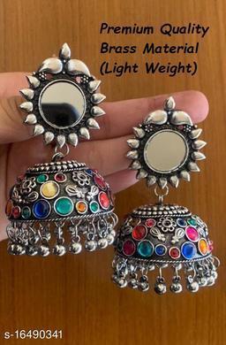Premium Quality Light Weight Multi Color jhumki Earrings