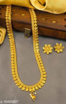 Allure Gold Plated Palakka Women's Jewellery Set