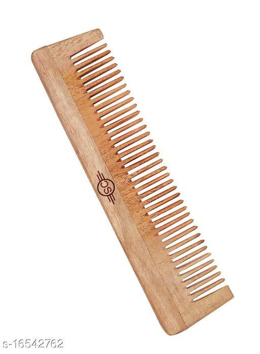 Hand Made Pure Neem Wooden Comb