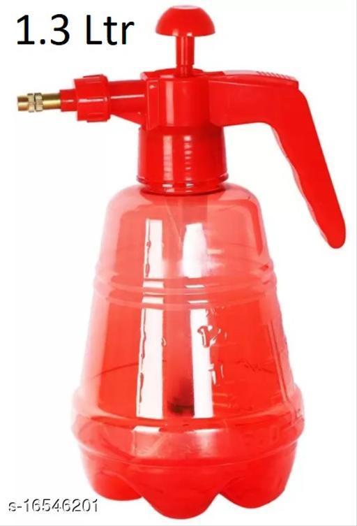 Handheld Garden Spray Bottle Chemicals, Pesticides, Neem Oil and Weeds Lightweight Pump Pressure Water Sprayer 1.3 L Hand Held Sprayer(red color)