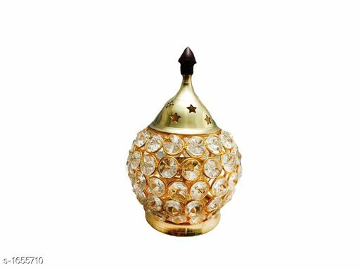 Candles & candle holders Brass And Crystal  Matki Akhand Diya  Crystal Oil Lamp For Puja  Home Decorative Diya   *Material* Brass & Crystal  *Size* (L X W X H) - 4.5 in X 4.5 in X 6.25  in  *Description* It Has 1 Piece Of Matki Akhand Diya  Crystal Oil Lamp For Puja  Home Decorative Diya  *Sizes Available* Free Size *   Catalog Rating: ★4 (20)  Catalog Name: Essential Home Decorative Diyas Vol 1 CatalogID_215711 C127-SC1612 Code: 314-1655710-