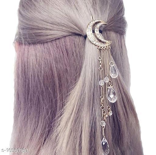 Attractive Women's   White  Hair Clip