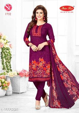Stylish Crepe Suits & Dress Material