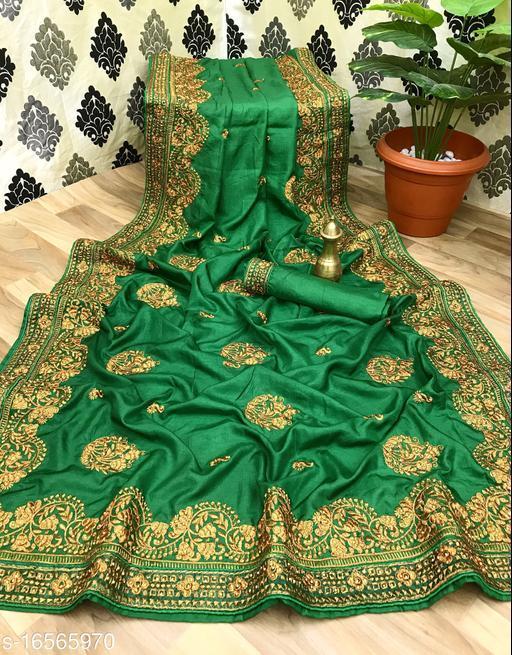 Manohari Art Silk Embroidered Saree