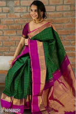 new bollywood stylish banarasi and kanjivaram saree