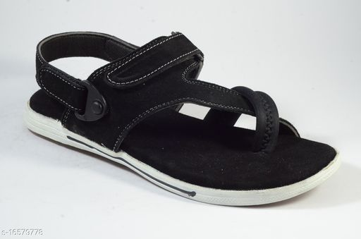 Almighty Staffy Black Sandal