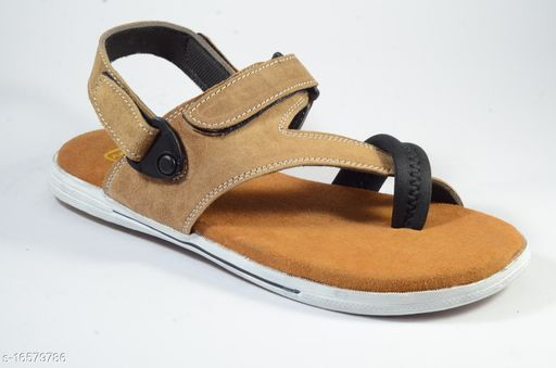 Almighty Staffy Beige Sandal