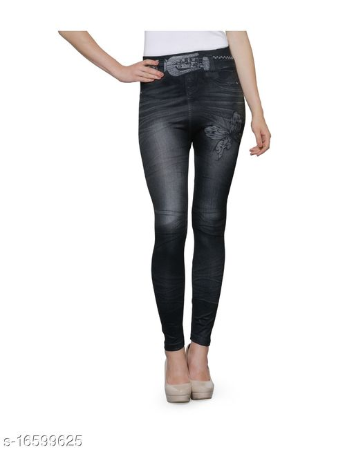 KANAK SOLID AND PRINTED JEGGING'S FOR GIRL'S AND WOMEN'S