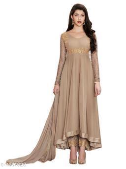 Attractive Faux Georgette Suit & Dress Material