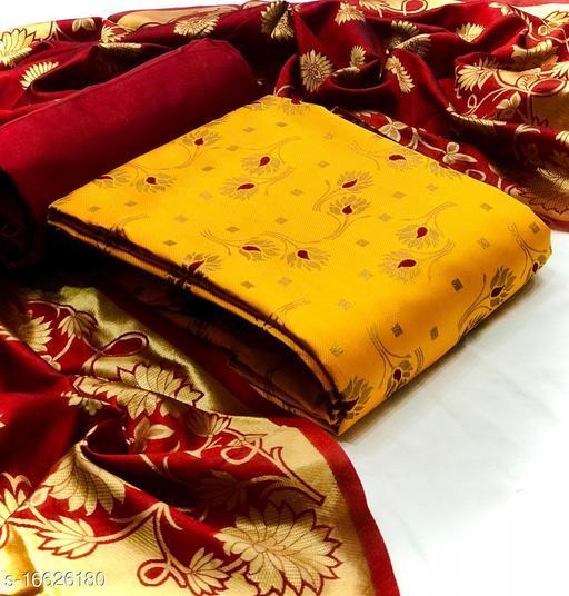 Trendy Alluring Salwar Suits & Dress Materials