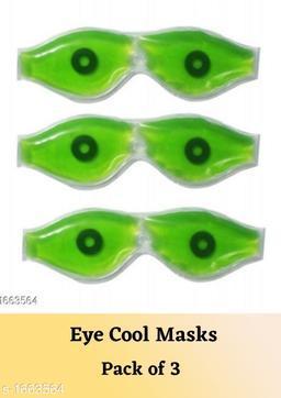 Manarya Organic Eye Cool Mask (Pack Of 3)