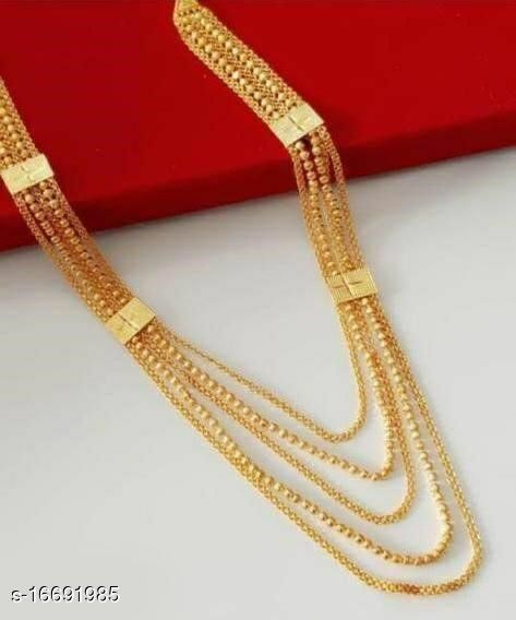 Fancy 5 Line Necklace For Woman And Girls
