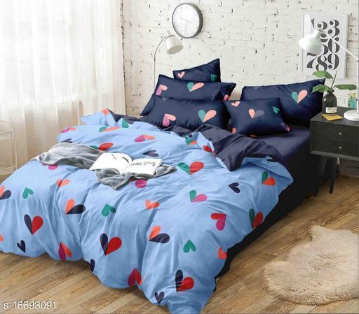 Trendy Glace Cotton Bedding Set